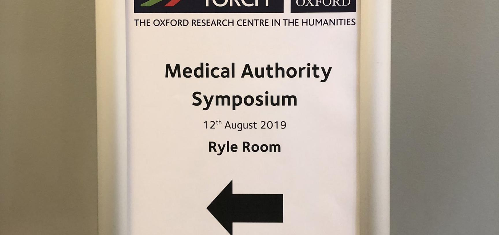 Photos from AfOx Symposium on Medical Authority | TORCH