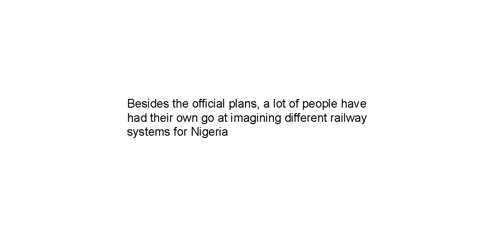 nigerian railways by oliver owen 22c