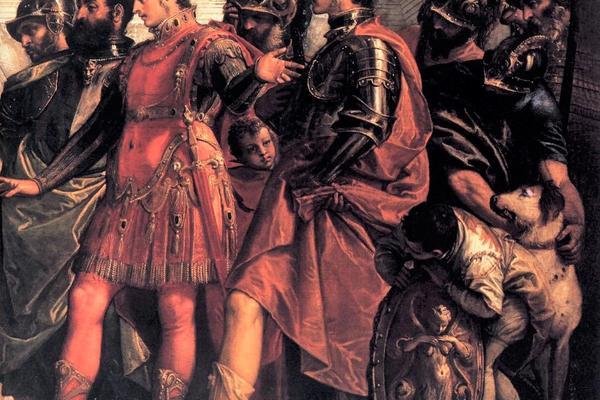 paolo veronese  the family of darius before alexander detail  wga24970