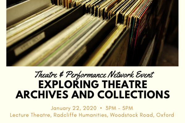 exploring theatre archives and collections