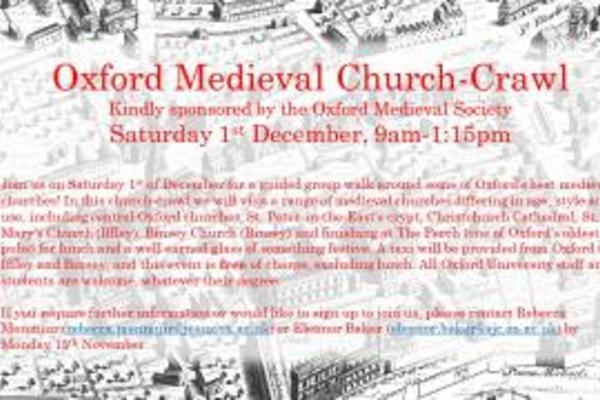 medieval church crawl