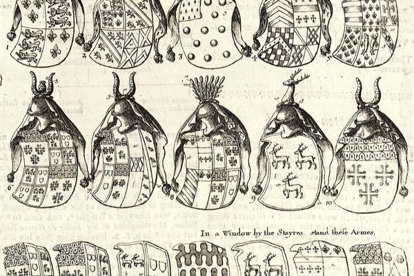 Sketches of heraldries