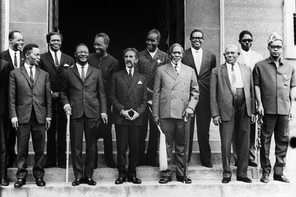 african heads of state at oau may 1963