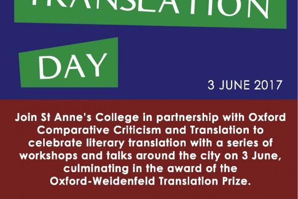oxford translation day poster