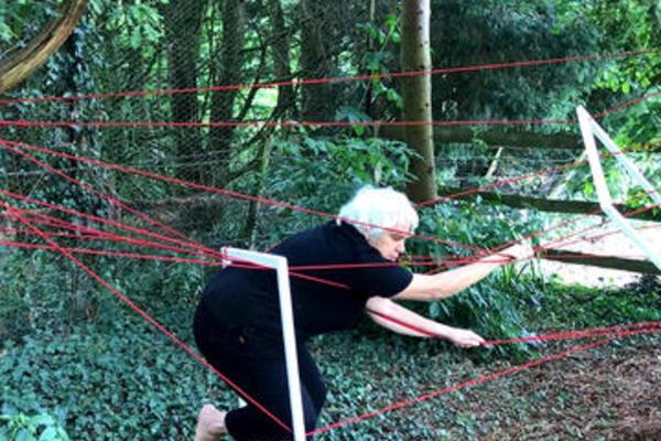red rope still