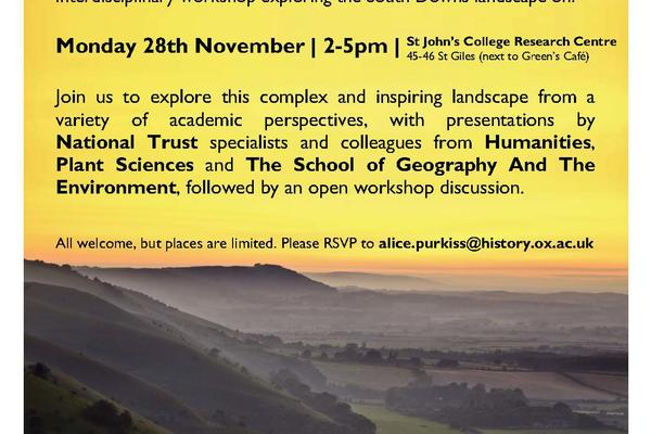 south downs workshop invite final