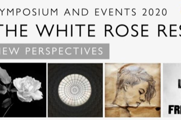 White Rose symposium banner Alex Lloyd