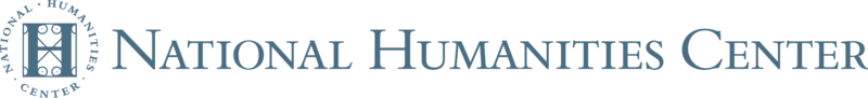 Light Blue National Humanities Center Logo with Insignia