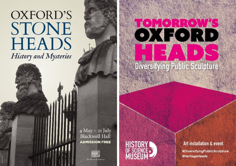 Oxford Heads Posters