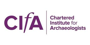 Chartered Institute for Archaeologists Logo: the acronym CIfA in purple capital letters. The 'f' in small and italics.