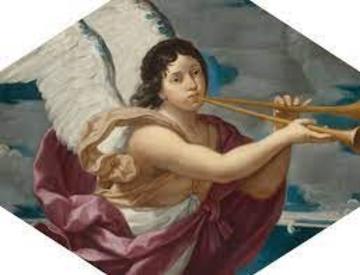 painting of renaissance angel