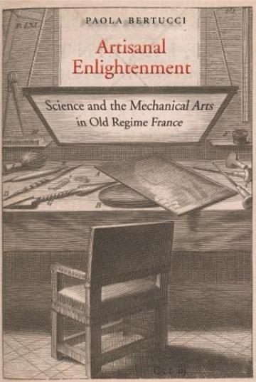 Book cover showing etching of a chair and desk