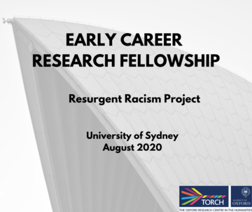 Early Career Research Fellowship in Resurgent Racism
