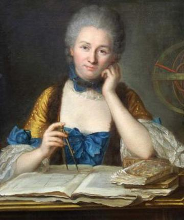 emilie chatelet portrait by latour