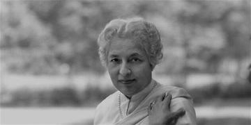 Indian diplomat and politician Vijaya Lakshmi Pandit