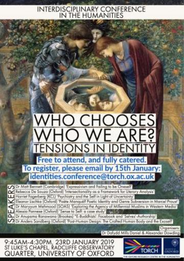 identities registration poster