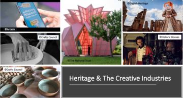 The Heritage Alliance - Heritage and the Creative Industries Project