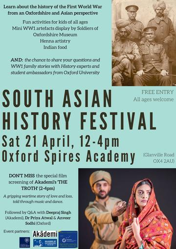 indian army first world war history festival poster priya atwal