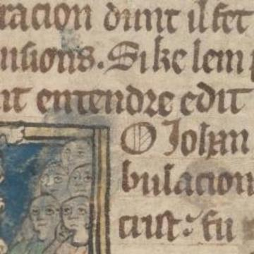 reading group image of a manuscript