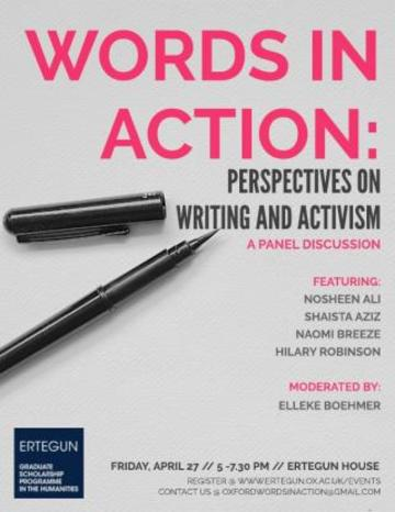 words in action perspectives on writing and activism image