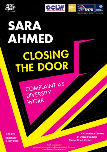 Sara Ahmed Closing the Door