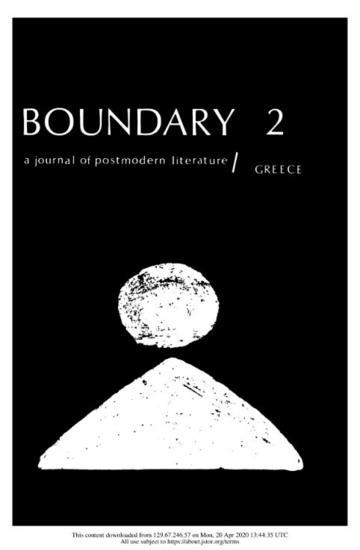 Boundary 2
