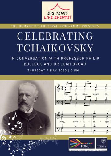 Celebrating Tchaikovsky poster