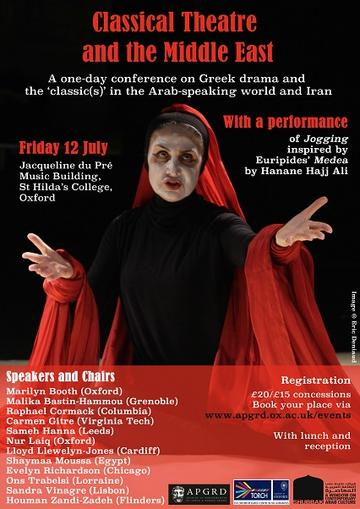 Classical Theatre and the Middle East poster
