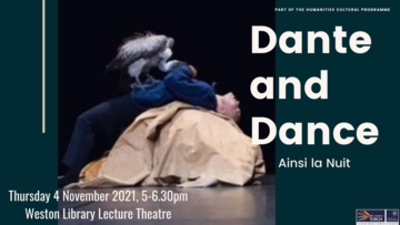dante and dance poster