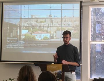 Herbert Ploegman (Vrije Universiteit Amsterdam), Discerning an 'Anthropology of Art' between Blocks of 'Architecture' and 'Artworks on Show' in Athens, Greece