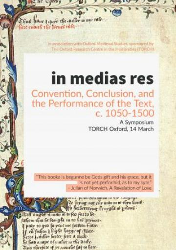 Poster: in medias res