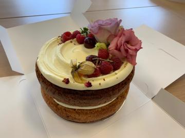 scipo launch celebration cake