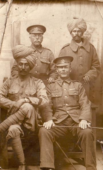 soldiers and officers
