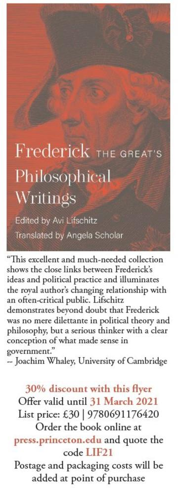 30% discount code LIF21 at the princeton press shop - valid until 31 March 2021