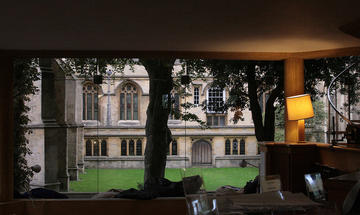 wadham college library
