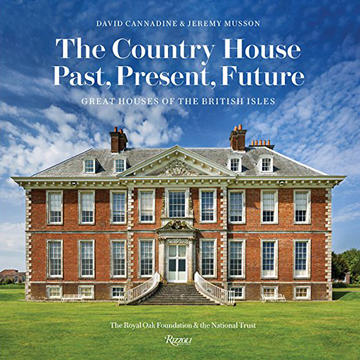 The cover of the book. It depicts Uppark in West Sussex.