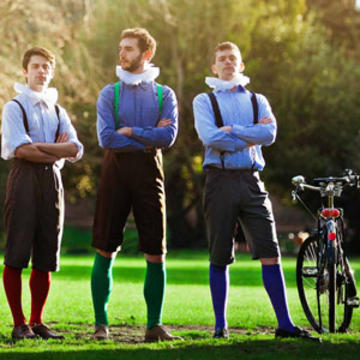 we banner handlebards boys