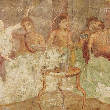 dinner party fresco