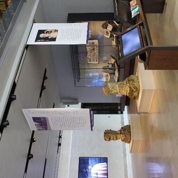Picture of a section of the exhibition