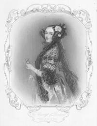 engraved portrait of ada lovelace