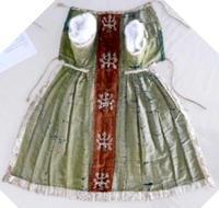figure 4 green robe for christ
